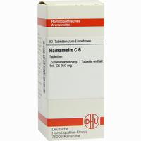 Hamamelis C6  Tabletten 80 ST