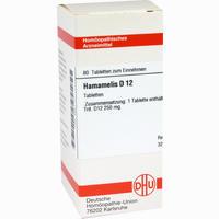Hamamelis D12  Tabletten 80 ST