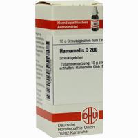 Hamamelis D200  Globuli Dhu-arzneimittel 10 G