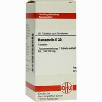 Hamamelis D30  Tabletten 80 ST