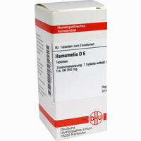 Hamamelis D6  Tabletten 80 ST