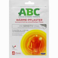 Abbildung von Hansaplast Med Abc Wärme- Pflaster Sensitive  4 Stück