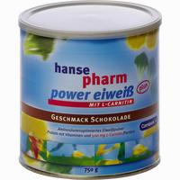 Abbildung von Hansepharm Power Eiweiß Plus Schoko Pulver 750 g
