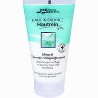 Haut In Balance Hautrein Mineral Klärende Reinigungscreme  150 ml