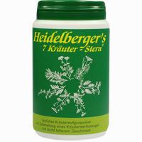 Abbildung von Heidelbergers 7 Kräuter Stern Tee 100 g