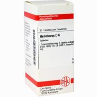 Helleborus D6  Tabletten 80 Stück