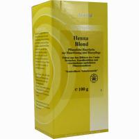 Henna Blond Pflanzliche Haarfarbe 100 g