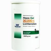 Abbildung von Hepa-gel 30000 I.e. Lichtenstein Gel 1000 g