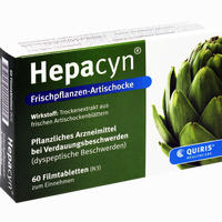 Hepacyn Frischpflanzen-artischocke  Filmtabletten 60 Stück