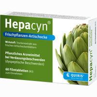 Abbildung von Hepacyn Frischpflanzen- Artischocke Filmtabletten 120 Stück