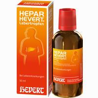 Abbildung von Hepar-hevert Lebertropfen   50 ml