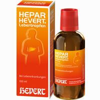 Hepar-hevert Lebertropfen   100 ml
