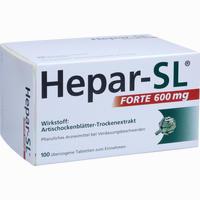 Abbildung von Hepar- Sl Forte 600mg Tabletten 100 Stück
