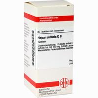 Hepar Sulfuris D8  Tabletten 80 Stück