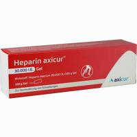 Abbildung von Heparin Axicur 30.000 I.e. Gel Gel Axicorp pharma 100 g