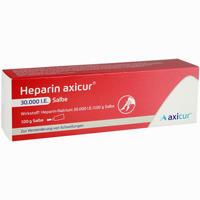 Abbildung von Heparin Axicur 30.000 I.e. Salbe  Axicorp pharma 100 g
