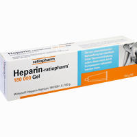 Heparin Ratiopharm 180000 Gel  Gel 150 g