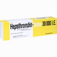 Abbildung von Hepathrombin- Salbe 30000 I.e.  Teofarma s.r.l. 150 g