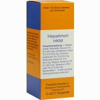Hepatimon Hkm Tabletten  100 Stück