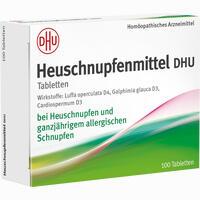 Abbildung von Heuschnupfenmittel Dhu Tabletten 100 Stück