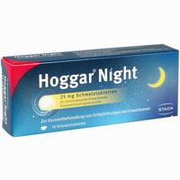 Abbildung von Hoggar Night 25 Mg Schmelztabletten  10 Stück