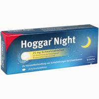 Abbildung von Hoggar Night 25 Mg Schmelztabletten  20 Stück