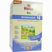 Holle Bio-kindermilch 4  Pulver 600 G