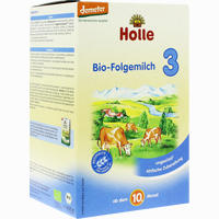 Holle Bio Säuglings-folgemilch 3  Pulver 600 G