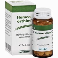 Homeo-orthim Tabletten  90 Stück