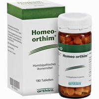Homeo-orthim Tabletten  180 Stück