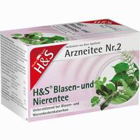 Abbildung von H&s Blasen U Nierentee  Filterbeutel 20 Stück