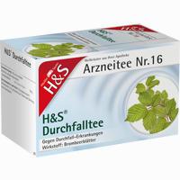 H&s Durchfalltee  Filterbeutel 20 Stück