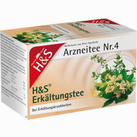 H&s Erkältungstee Filterbeutel 20 Stück
