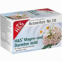 Abbildung von H&s Magen- und Darmtee Mild Filterbeutel 20 Stück
