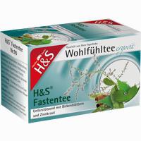 H&s Wohlfühltee Fastentee  Filterbeutel 20 Stück