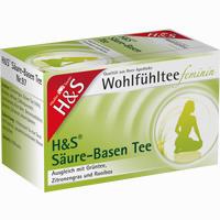 H&s Wohlfühltee Feminin Säuren-basentee Filterbeutel 20 Stück