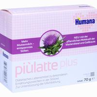 Humana Piulatte Plus 70g Pulver Zur Herstellung Einer Suspension  70 g