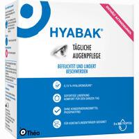 Hyabak  Augentropfen 3X10 ml