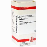 Hydrastis D12  Tabletten 80 Stück