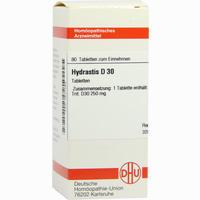 Hydrastis D30  Tabletten 80 Stück