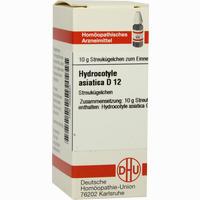 Hydrocotyle Asiatica D12  Globuli 10 g