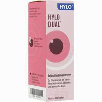 Abbildung von Hylo Dual Augentropfen  10 ml