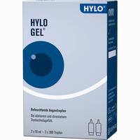 Hylo-gel Augentropfen  2X10 ml
