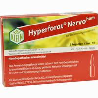 Hyperforat Nervohom  Injektionslösung 5X2 ml