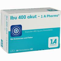 Ibu 400 Akut - 1a Pharma  Filmtabletten 50 ST