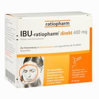 Abbildung von Ibu- Ratiopharm Direkt 400 Mg Pulver Zum Einnehmen 20 Stück