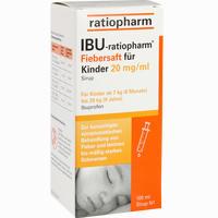 Abbildung von Ibu- Ratiopharm Saft 2% Fiebersaft für Kinder  100 ml