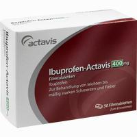 Ibuprofen-actavis 400mg Filmtabletten   50 Stück