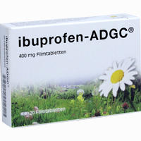 Abbildung von Ibuprofen- Adgc 400 Mg Filmtabletten 20 Stück