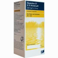 Abbildung von Ibuprofen - Ct 4% Kindersaft   100 ml